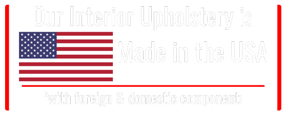 Classic Car Upholstery made in the USA.