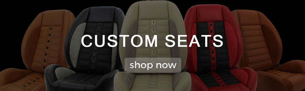 TMI Custom Seats for your classic car.