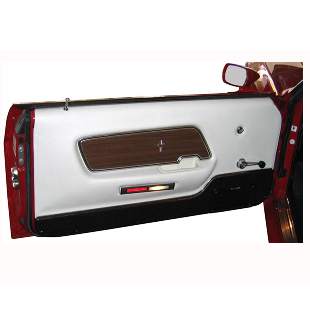1970 mustang deluxe mach 1 door panels classic car interior. Black Bedroom Furniture Sets. Home Design Ideas