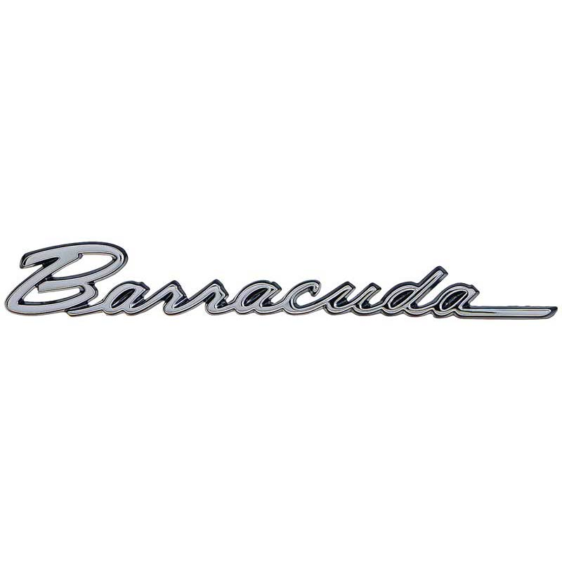 1968  u0026 1970 plymouth barracuda fender emblem  classic car