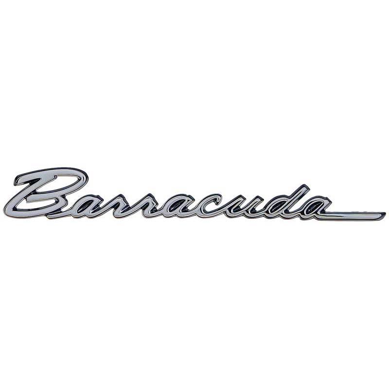 1968  u0026 1970 plymouth barracuda fender emblem  classic car
