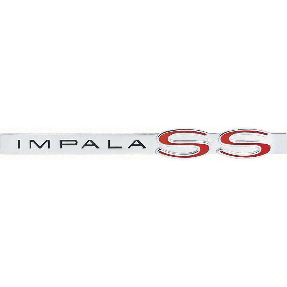 1962 Impala SS Trunk Lid Emblem Classic Car Interior