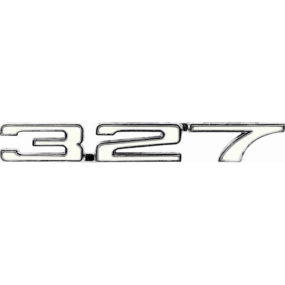 1968 camaro  u0026quot 327 u0026quot  fender emblem  right hand  classic car