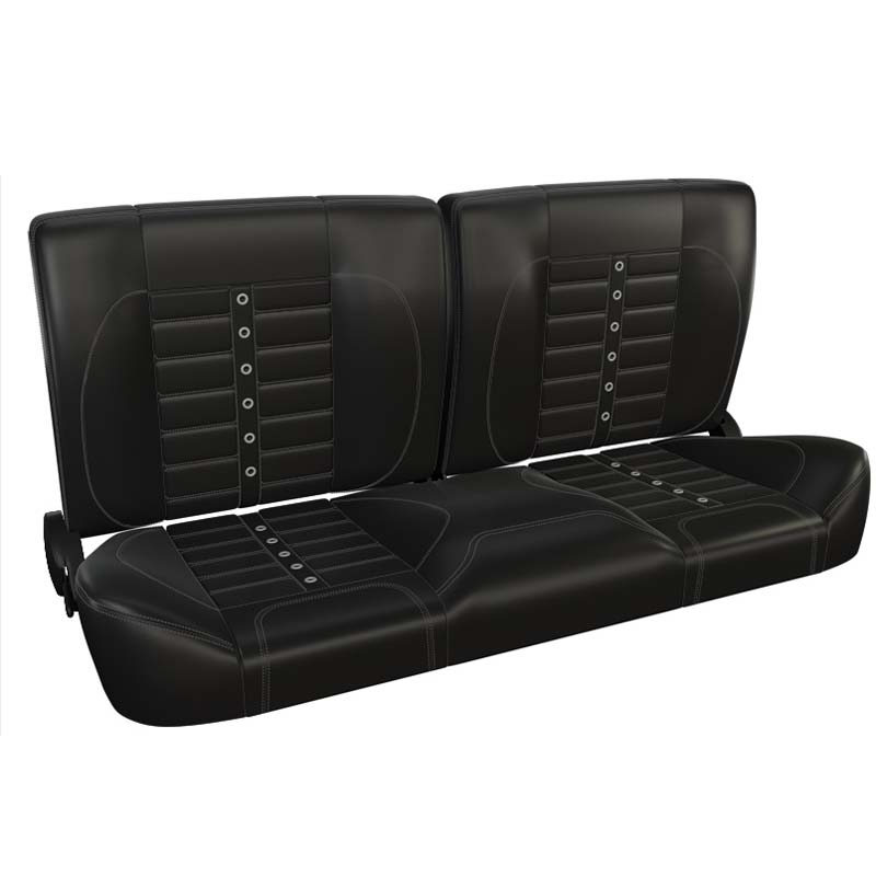 Pro Series Universal Sport Xr Split Back Bench Seat 55 Quot Black Black