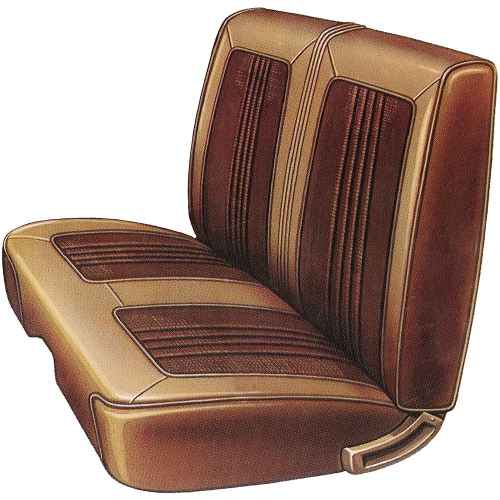 1969 Dodge Coronet Hardtop Rear Seat Covers Classic Car
