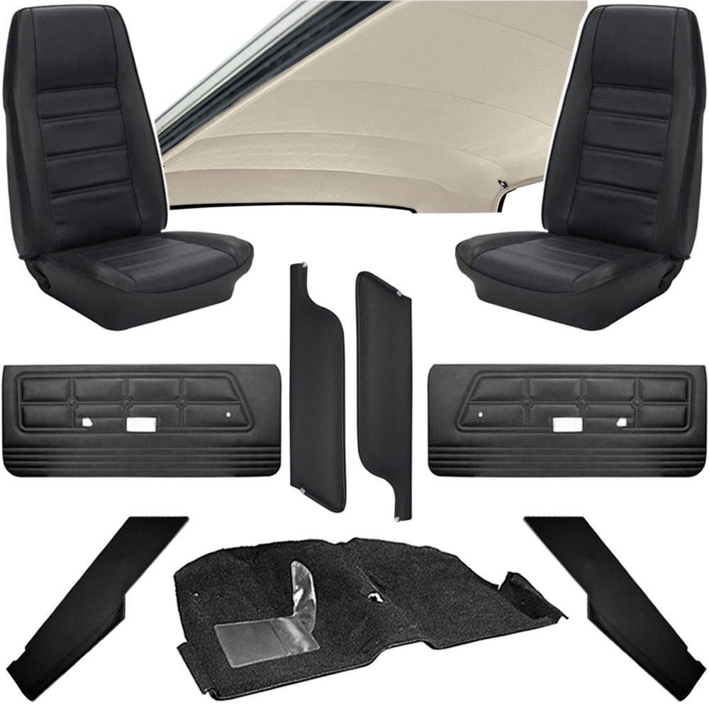 1971 mustang interior kits classic car interior. Black Bedroom Furniture Sets. Home Design Ideas