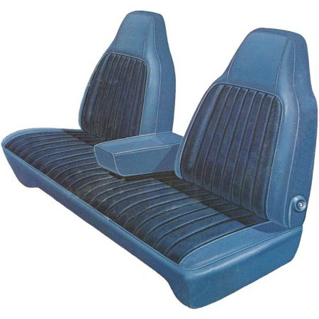 Surprising 1974 1976 Dodge Dart Dart Sport Front Split Bench Seat Cover Machost Co Dining Chair Design Ideas Machostcouk