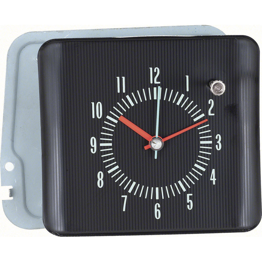 Fox Body Parts >> 1966 Impala Chevrolet In-Dash Clock: Classic Car Interior