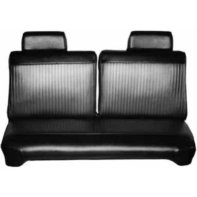 1969 Dodge Dart Swinger Front Split Bench Seat Cover
