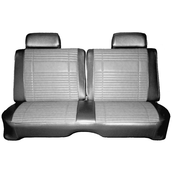 1969 Plymouth Road Runner Satellite Front Split Bench Seat