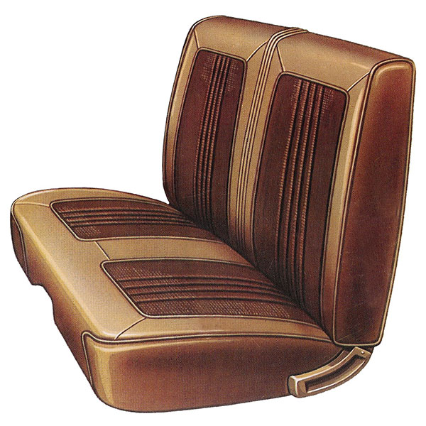 1969 Dodge Coronet Front Split Bench Seat Cover Classic