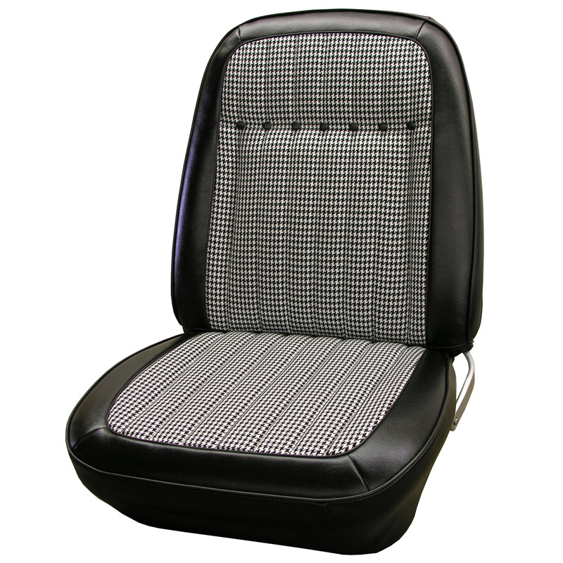 Legendary 1969 Camaro Seat Covers Deluxe Houndstooth