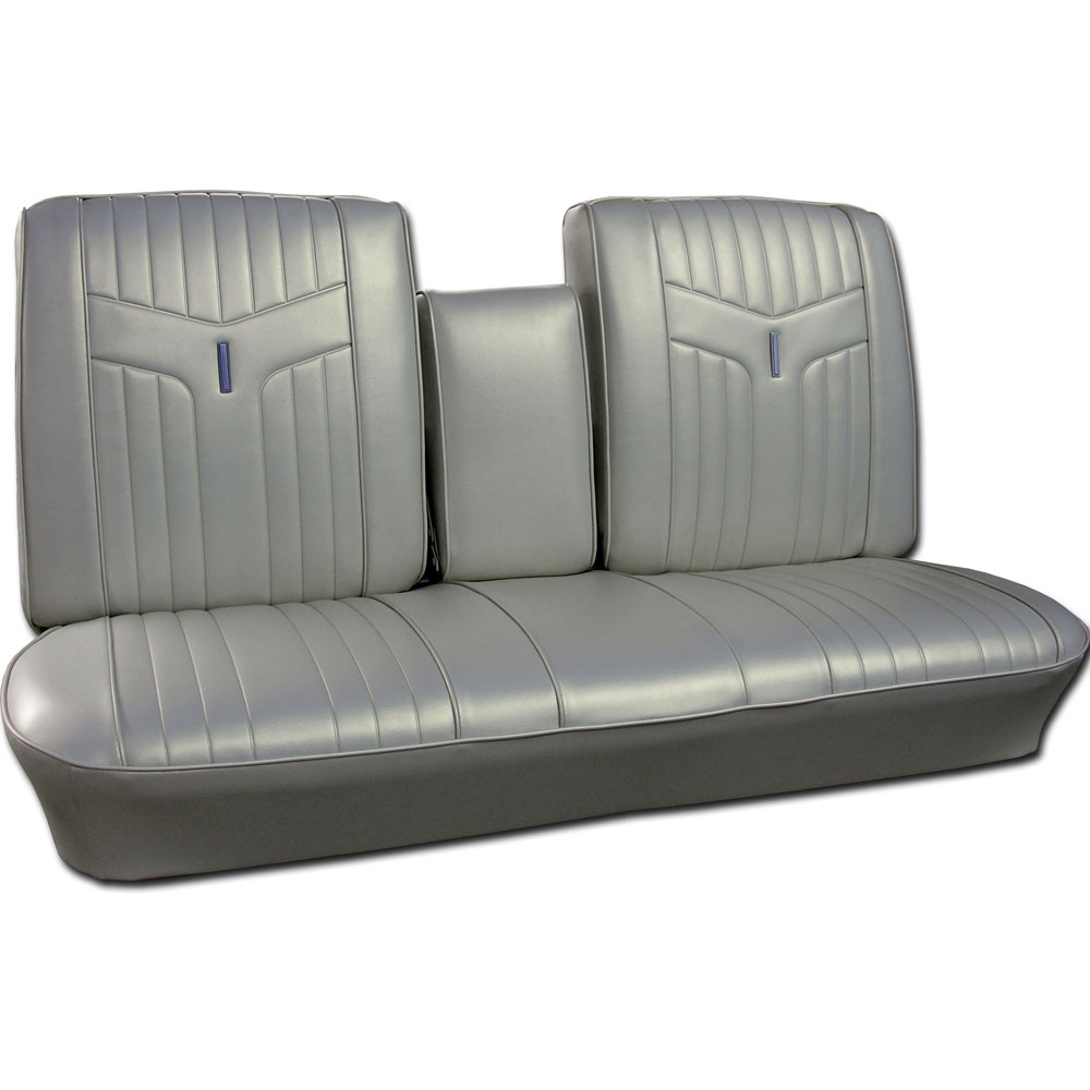 1969 Pontiac Gto Lemans Seat Covers Front Split Bench W