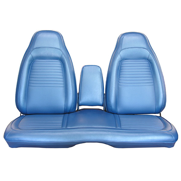 1970 Plymouth Barracuda Front Split Bench Seat Cover With