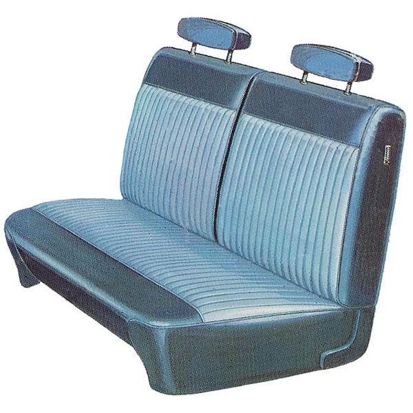 1970 Dodge Dart Swinger Front Split Bench Seat Cover