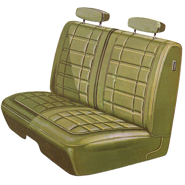 1970 Dodge Coronet Front Split Bench Seat Cover Classic