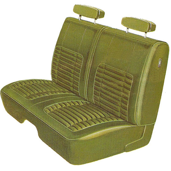1970 Dodge Charger Front Split Bench Seat Cover Classic