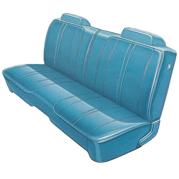 1972 Dodge Charger Front Split Bench Seat Cover Classic