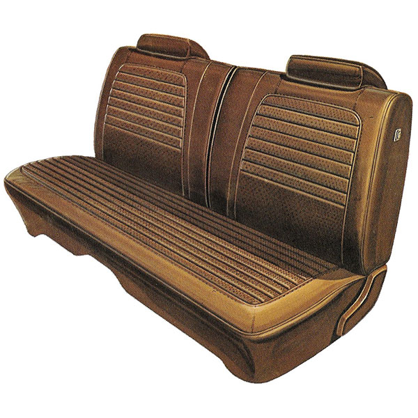 1972 Dodge Charger Deluxe Front Split Bench Seat Cover