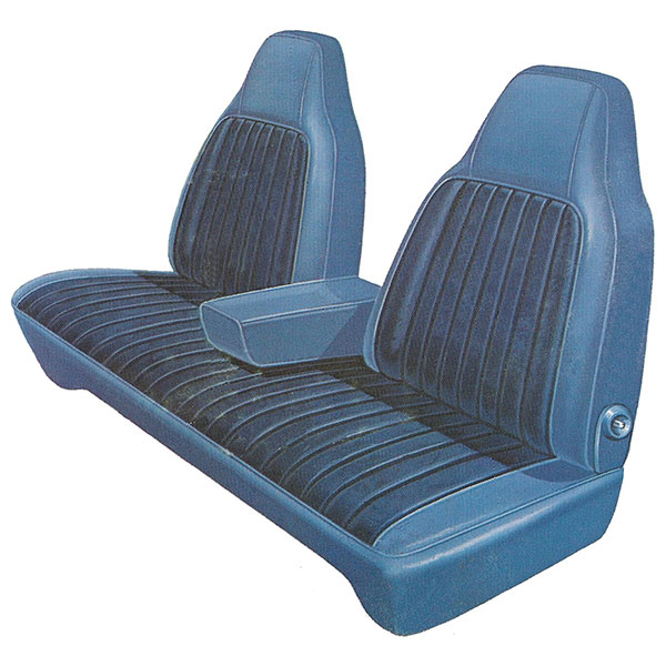1973 Plymouth Duster Scamp Front Split Bench Seat Cover