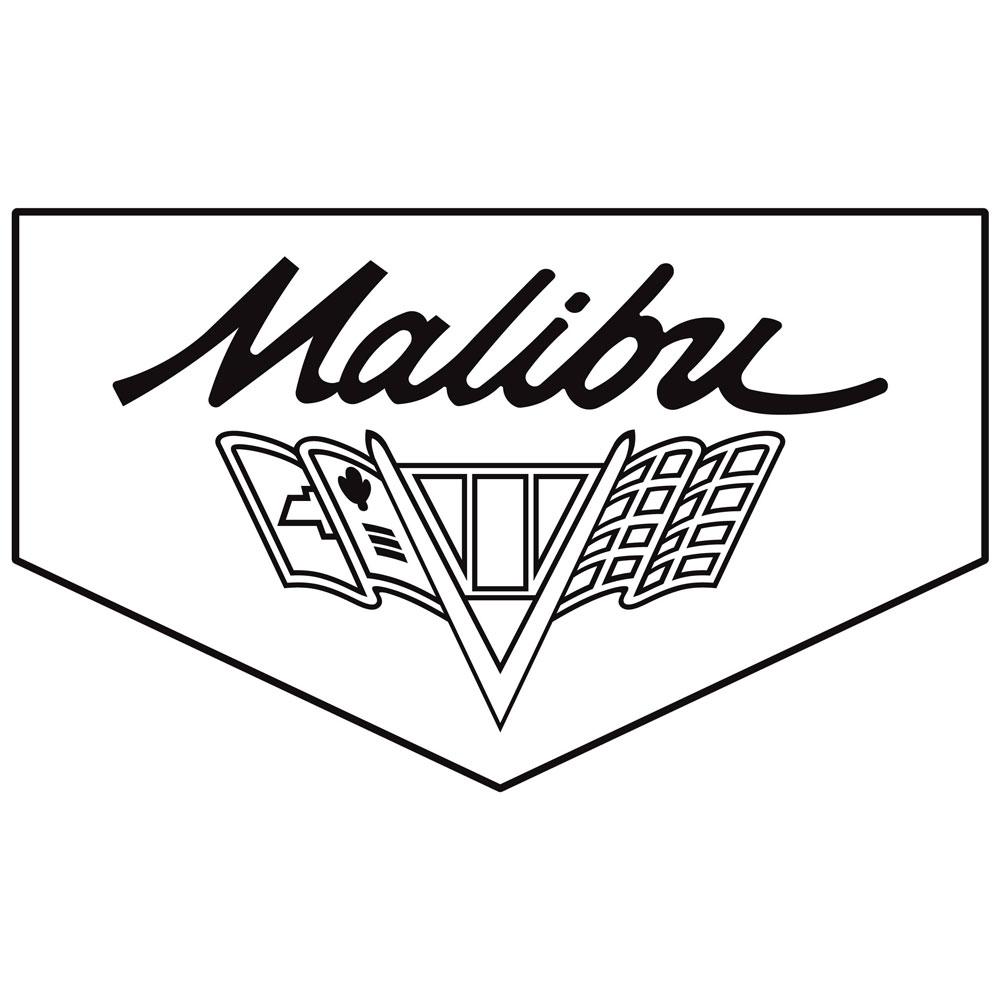 Legendary 1966 67 Malibu Floor Mats Script Letters Flag