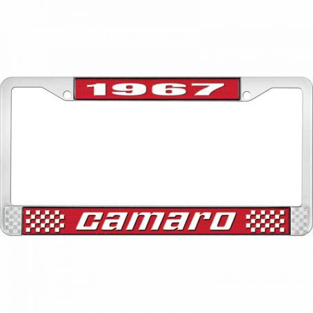 1967 Camaro License Plate Frame Style 2: Classic Car Interior
