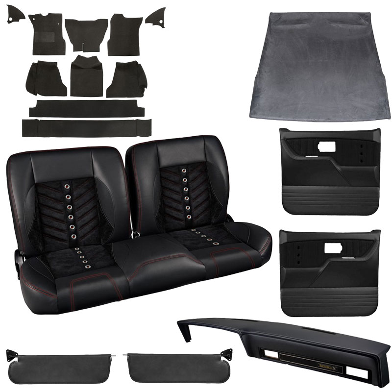 Miraculous 1981 1987 Chevy Gmc Truck Tmi Sport Vxr Interior Kit Bench Seat Evergreenethics Interior Chair Design Evergreenethicsorg
