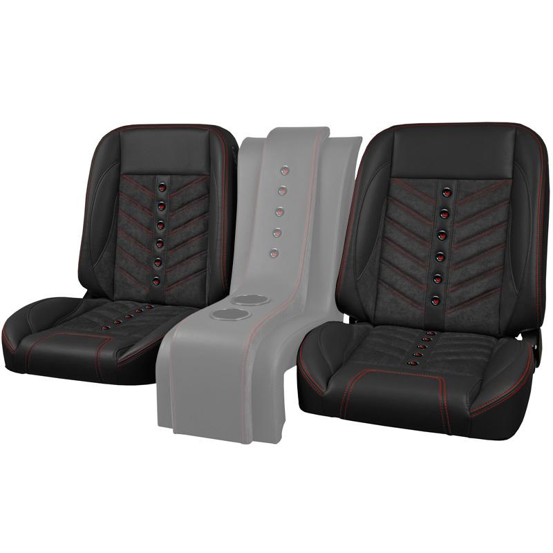 TMI Pro-Classic Truck Seats, Universal Sport-VXR, Low Back