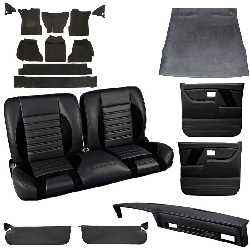 1979 1980 Chevy Gmc Truck Tmi Sport R Interior Kit Bench