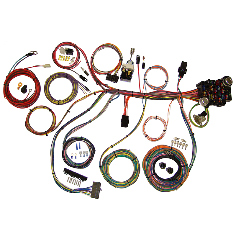Universal Complete Wiring Kits  Classic Car Interior
