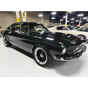 1968 Green Mustang