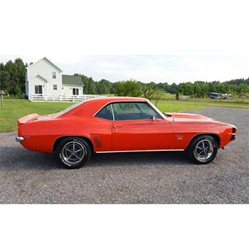 1970 Orange Mustang